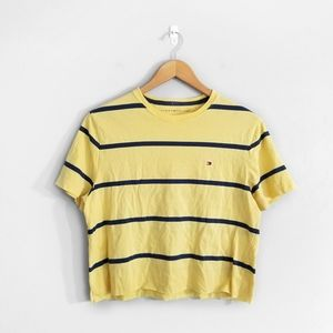 TOMMY HILFIGER Yellow Striped T-Shirt